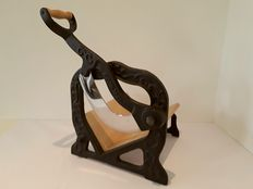 Vintage iron bread cutter - Germany - ca 1950
