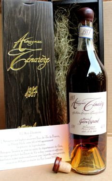 1987 Vintage Armagnac Tenareze, Baron Gaston Legrand, bottled 2015, 46% vol. 70cl. incl. Wooden Box