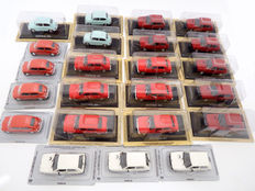 Ixo-De Agostini - Scale 1/43 - Lot with 23 models: Zastava 750, Zastava Yugo and Zastava 101