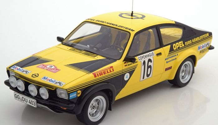 bos models schaal 1 18 opel kadett c coupe rally monte. Black Bedroom Furniture Sets. Home Design Ideas