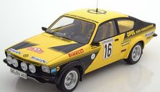 BOS Models - Scale 1/18 - Opel Kadett C Coupe Rally Monte Carlo 1976 # 16