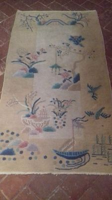Chinese rug – Art Deco – 180 x 96 cm.
