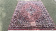 Beautiful hand-knotted oriental Indo Bidjar carpet, 275 x 172 cm. Note! No minimum price, bidding starts at €1.
