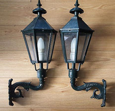 Kolarz Westminster Large Garden Wall Lamps -  second half 20th century,England