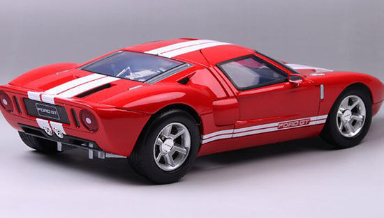 Motormax Scale   Ford Gt Concept Red