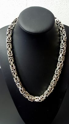 Heavy 925 silver necklace of 376 g - 61 cm