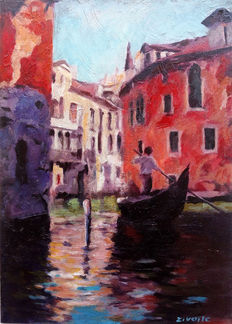 Zoran Zivotic (1962-) - Colors of Venice