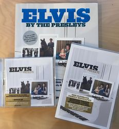 Elvis by the Presley's set with 2 other books