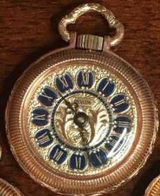 Revlon – Swiss-made pocket watch – 1960s