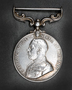 Military Medal, George V 1916 bravely in the field