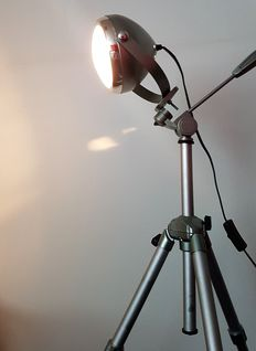"""Spot-light"" lamp on tripod, second half of the 20th century, Netherlands"