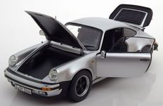 Norev - Scale 1/18 - Porsche 911 Turbo 3.3 1977 - Colour Silver