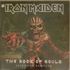 "Iron Maiden  "" A Lot 2 LPs  ""The Book Of Souls"" tour Sampler 2016 PLUS "" A real Live One"" Picture Disc"