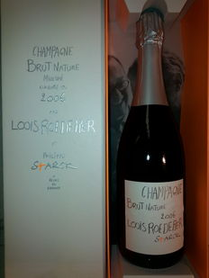 2006 Champagne Louis Roederer Philippe Starck - 6 bottles (75cl)