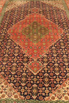 Magnificent, antique, hand-knotted, Art Nouveau Persian Tabriz carpet, 220 x 330 cm, made in Iran, wool / natural dyes, collector's item