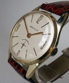 Greville men's watch with beautiful 1960s styling.