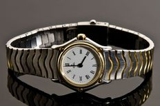 Ebel Wave Solid 18K Yellow Gold / Steel - Lady's Timepiece