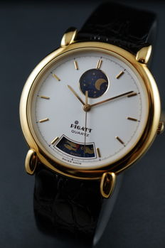Pigatt Zodiac Moonphase - Swiss Men's Watch - 1990's