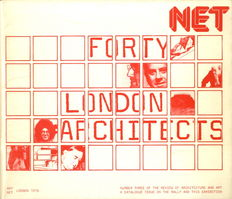 Peter Cook - NET 3. The Rally. Forty London Architects - 1976
