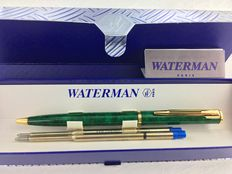 Waterman Apostrophe Turtle Green ballpoint pen. In Mint Condition.