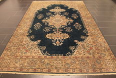 Hand-knotted Persian carpet, Tabris/Tabriz, 200 x 310 cm, made in Kashmir around 1960