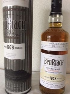Benriach 1978 - 30 yers old - one of 186 - OB