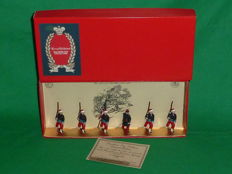 "Tradition, England - Scale 1/32 - Lead soldier ""114th Pennsylvania Volunteer Infantry Collis Zouaves Set No.64"", 1980s"