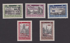 Danzig 1920/1938 – selection on stock cards.