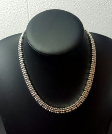 925k silver necklace, length: 43.5 cm, weight: 103 g
