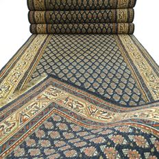 Mir – 420 x 81 cm – XL runner – oriental carpet in beautiful condition.