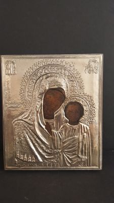Icon Mother of God in Silver 925/1000