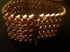 Bracelet in 18 kt gold from the 1950s