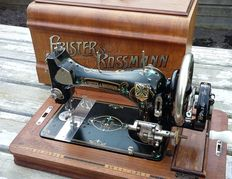 Beautiful Frister & Rossmann sewing machine in Art Deco Style, Germany, ca.1920
