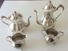 Vintage coffee and tea service - MS - ca 1950