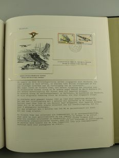 Aviation - 343 first flights, special covers and various