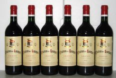 1988 Chateau des Lucques, Graves – Lot of 6 bottles.