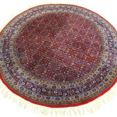 "Indo Bidjar – 186 cm in diameter – ""Round oriental carpet in beautiful, nearly unused condition""."
