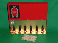 "Tradition, England - Scale 1/32 - Lead soldier ""29th Bombay Infantry 2nd Baluchis 1890 Set No.32"", 1980s"