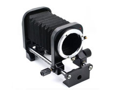 Macro bellows for Nikon SLR cameras