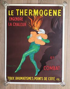 Beautiful poster Le Thermogène - circa 1950s