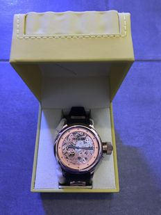 Invicta Russian Diver Mechanical Watch - Rose Gold