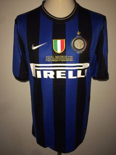 FC Internazionale / Diego Milito - Champions League final shirt 2010 Inter vs Bayern München, player version.