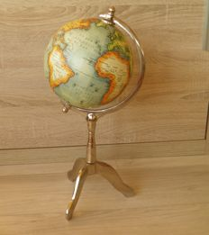 Lovely globe on metal stand