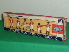 "Britains Swoppet, England - Scale 1/32 - Plastic soldier ""American War of Independance British infantry Set No.7364"", 1965/68"
