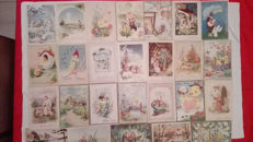 Beautiful lot of 230 Christmas and Easter cards