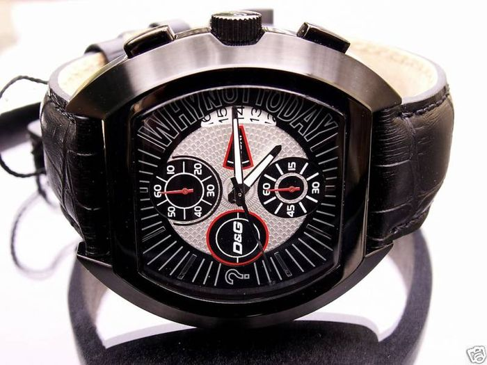 Dolce & Gabbana - DW0214 chronograph - High Security collection - Men's watch