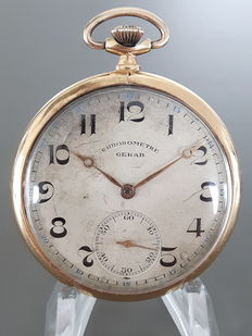 Chronometer Gerab pocket watch -- 1935