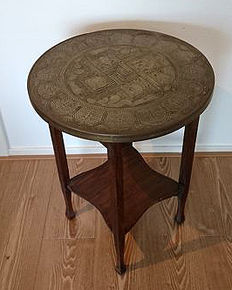 Colonial table, Dutch East Indies, first half 20th century
