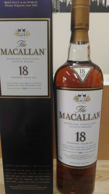 Macallan 1989 18 years old - sherry oak