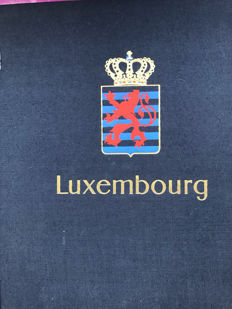 Luxembourg 1944/1983 – Broad collection with blocks, in Davo album
